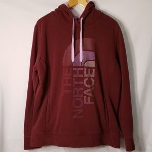 The North Face Maroon & Lavender Hoodie